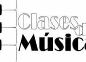 Clases de guitarra, guitarra electrica y piano