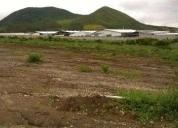 Vendo terreno industrial alto impacto 4, 5 hectareas.
