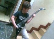 Excelente clases de guitarra contemporánea y bateria