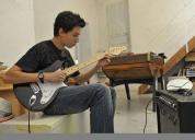 Excelente clases de guitarra personalizadas