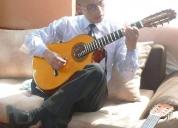 Excelente clases de guitarra y requinto