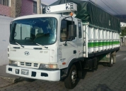 Vendo lindo camion hyundai hd120 de 8t 2002 turbo. contactarse.