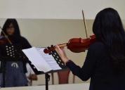 Excelente cursos de violín días sábados intensivos
