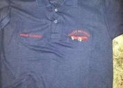 Camiseta polo para empresas colegio bordados