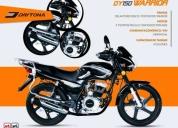 Se vende moto daytona dy150 warrior,contactarse.