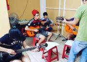 Excelente clases de guitarra, teclado