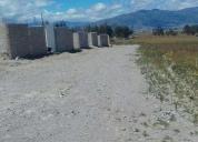 Vento terreno lotes de 200 m2