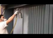 Servicio de pintura en altura ,mantenimiento de edificios