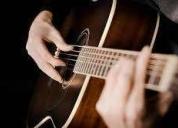 Clases de guitarra a domicilio. contactarse.