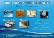 Construcción de spa, piscinas, saunas, turcos, hidromasajes