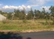 Vende terreno planito en tumbaco
