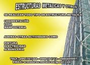 Estructura metalicas menendez. contactarse.