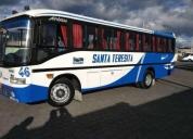Se vende por cambio de unidad bus hino gd 2001