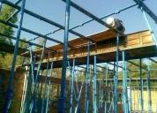alquiler de equipos de encofrado y andamios para la construccin