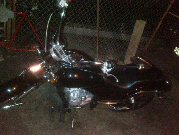 HERMOSA MOTO TIPO HARLEY TUNDRA REBEL XL200