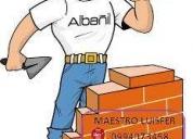 Albanil no dude en llamar