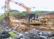 Vendo excelente excavadora 320 l