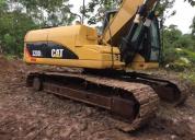 Excelente excavadora caterpillar 320dl