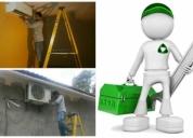 instalaciones de aires acondicionados,mantenimientos