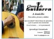 Clases economicas de guitarra basica