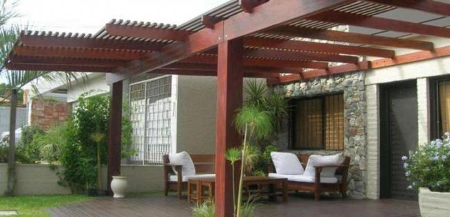 Pergolas cubiertas con policarbonato techos quito - Cubiertas para techos ...