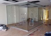 Aluminio y vidrio ,ventanas, puertas corredizas.