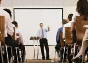 Se requiere capacitadores para cursos cortos marketing