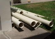 Tubos de alcantarillado nuevos 175mm x 6 mm plastigama novafort, contactarse.