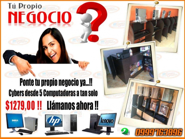 LOCAL CYBER COMPLETO, ATENDER CYBER