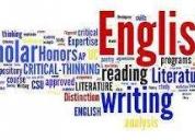 Clases de nivelación de inglés y alemán, contactarse.