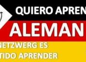Quieres aprender alemán. contactarse.