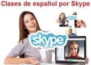 Clases de espaÑol para extranjeros. contactarse.