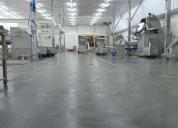 Recubrimientos de pisos industriales con ucrete. contactarse.