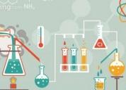 Excelente clases de química básica e ingles