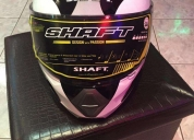 Vendo casco shaft nuevo xl.