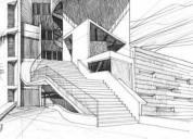 Planos arquitectonicos  3d renders  topografia