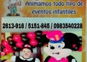 Oportunidad!. animacion de fiesta infantil $25
