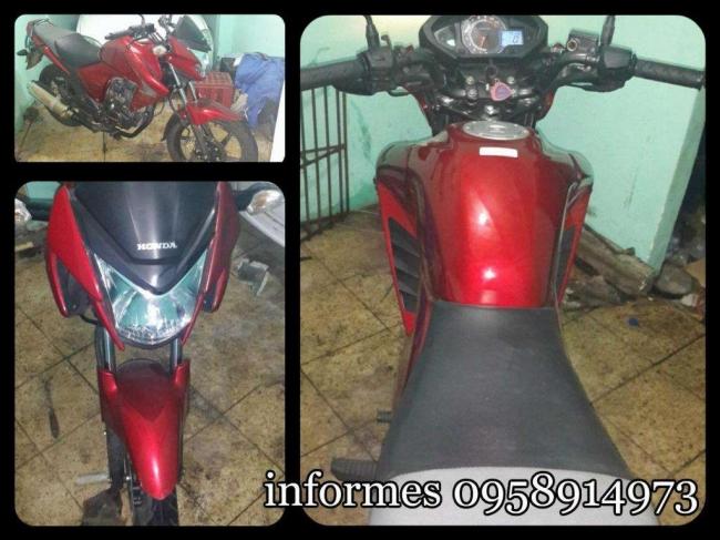 Vendo Excelente Moto Honda Invicta 150
