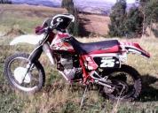 Vendo mi moto honda xr 250