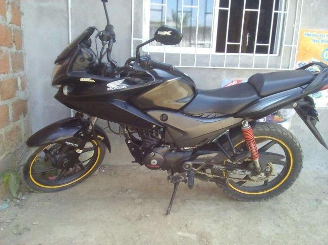 Vendo Moto Honda Cbf 125 Papeles Al Dia