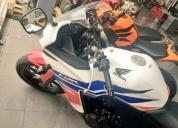 Vendo moto cbr 500 r año 2015, contactarse.