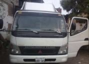 vendo un camion mitsubiche fuso año 2008, contactarse.