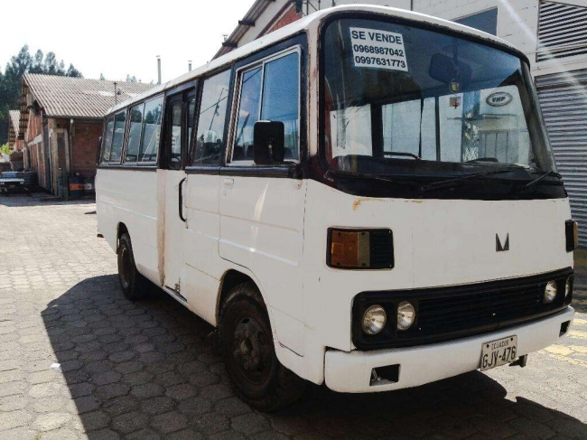 Venta de Excelente Buseta Mitsubishi Cuenca