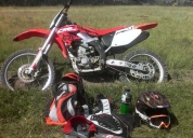 Excelente honda crf 450 cc full cross