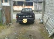 Excelente camioneta mitsubishi