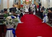 DecoraciÓn de bodas y organizaciÓn de eventos sociales. aprovecha ya!
