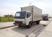 Excelente camión mitsubishi canter 5.5 ton