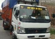 Venta de excelente camión con puesto de trabajo