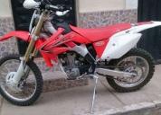 Moto honda crfx 250 año 2011.
