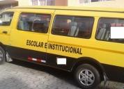 Excelente furgoneta escolar